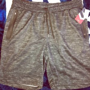 🆕🚹XL Pony black Heather Fashion Knit Shorts🔥🔥